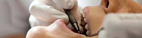 Patient at the Copenhagen School of Dentistry
